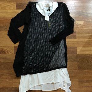Cupio layered shirt